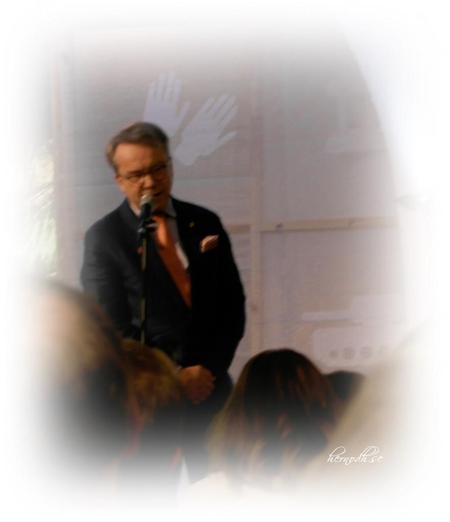 Ingen mindre än Knut Knutsson var en av talarna