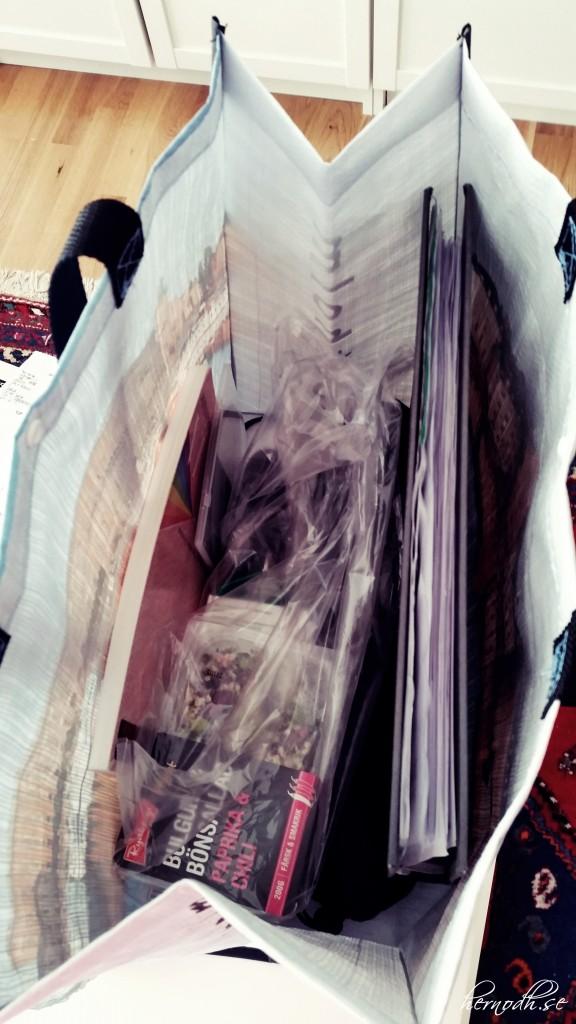 Nu är väska packad